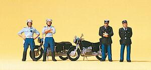 """Preiser 10191 H0 Figuren """"Französische Gendarmerie""""  #NEU in OVP##"""