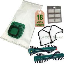 18 Staubbeutel + Filter Duft Bürsten geeignet für Vorwerk Kobold VK 140 VK 150