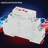 NEW GRL8-02 Liquid Level Control Relay Water Level Controller 10A AC/DC 24V-240V