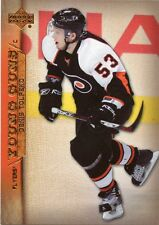 07-08 UPPER DECK YOUNG GUNS ROOKIE RC #239 DENIS TOLPEKO FLYERS *29377