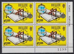 Belize 603 4er-Block postfr./mnh  ESPAMER 1981  Michel 80 €