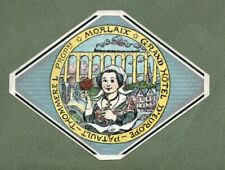 RARE Hotel luggage label FRANCE Grand d'Europe Patault  #136
