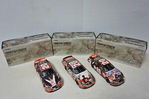 (3) - 1/24 Tony Stewart Milestone Cars - 1st NASCAR Win, 1998 ROY, Indy 400 Win