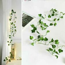 2M 20LED Leaves Ivy Leaf Garland Fairy string Lights Lamps Party Decor R7B6