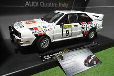 AUDI QUATTRO A2 #9 RALLYE 1000 LAKES 1983 SESAB 1/18 SUN STAR SUNSTAR 4230 rally