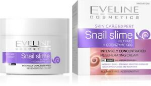 EVELINE SNAIL SLIME FILTRATE + COENZYME Q10  CONCENTRATED BIO RESTORE FACE CREAM