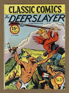 Classics Illustrated 017 The Deerslayer #2A FN- 5.5 1944