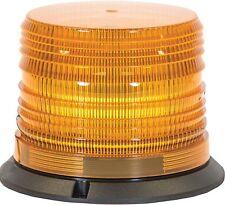 12 - 48 VDC QUAD FLASH 12 LED AMBER STROBE LIGHT - Set of 2