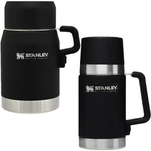 Stanley Master Unbreakable Insulated Stainless Steel Food Jar - Foundry Black