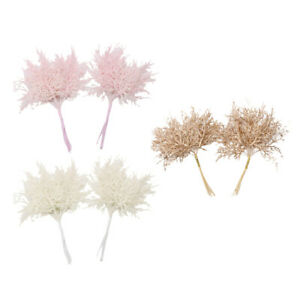 2pcs Artificial Plants Fake Leaves for Christmas Thanksgiving Wedding and Other