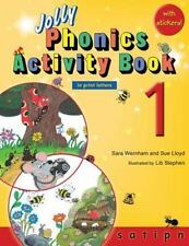 Jolly Phonics Activity Book 1 (in Print Letters): By Sara Wernham, Sue Lloyd