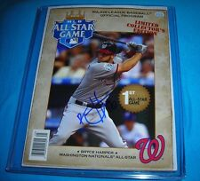 2012 All-Star game limitted edition print with Bryce Harper signed autograph