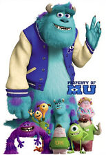 """XXL Giant Monsters University Disney Wall Sticker 33"""" Mike Sulley"""