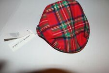 NEW Janie and Jack Baby Boy's Holiday Newsboy Hat Size 12-18 Months