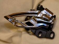 Shimano SLX FD-M575 front derailleur 2x10 braze on/ bolt on style