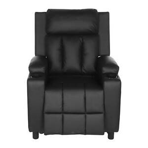 STUDIO LEATHER RECLINER DRINK HOLDERS ARMCHAIR SOFA CHAIR CINEMA GAMING