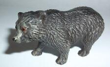 antique vintage Toy black Bear cub? Figure Elastolin? Lineol? Composition?