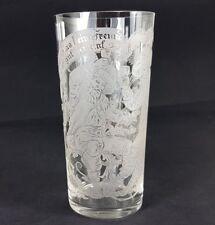 verre à bière avec proverbe, Genre Scène , gravure décoration, um 1900 al295