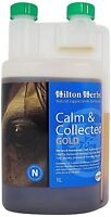 Hilton Herbs Calm and Collected Gold 1 Litre Tried & Tested Calmer for Horses