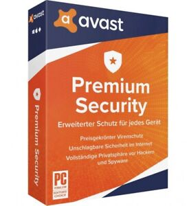 Avast Premium Security 2021 (10 PC / 1 Jahr) MD ESD-Version