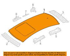 AUDI OEM 12-18 A6 Quattro-Roof Panel 4G5817017A