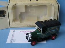 Lledo Fred Dibnah Bullnose Morris Rare Boxed with Certificate 80mm Long LP50