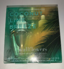 Bath & Body Works COCONUT LIME BREEZE Wallflowers Refill 2 Pack