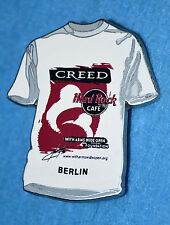 HARD ROCK CAFE 2001 Berlin Creed T-Shirt Pin # 1214