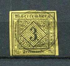 Germany  1851 States Wurttemberg Mi 2  Sc 2 Used  5320