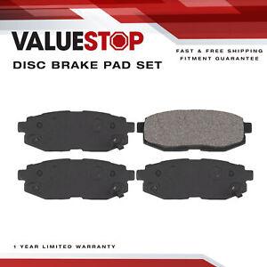 Rear Ceramic Brake Pads for Subaru B9 Tribeca, BRZ, Outback, Tribeca; Toyota 86