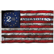 Anley Fly Breeze 3x5 Foot 2nd Amendment Flag 2nd Amendment Flags