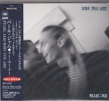 PEARL JAM - who are you CD single japan edition