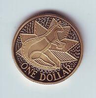 1988 Australia $1 Proof Coin Kangaroo out of a Set