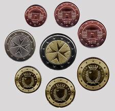 More details for malta 2012 - set of 8 euro coins (unc)
