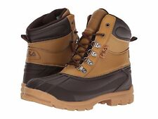 NEW FILA Men's WATERPROOF Weathertech Extreme BLACK OR WHEAT TAN  DUCK BOOTS