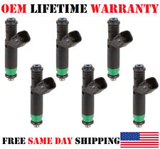 OEM Siemens 6 Piece Fuel Injectors for 2001-2002-2003-2004 Ford Ranger 3.0L FLEX