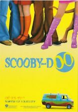 SCOOBY DOO   carte postale publicitaire  CART'COM
