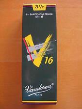 Vandoren v16 tenorsaxophonblätter grosor 3,5 hojas sueltas