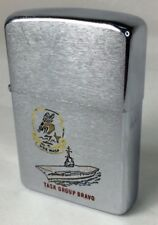 Zippo 1959 Regular U.S.S. Wasp Enamel Task Group Bravo (I215)