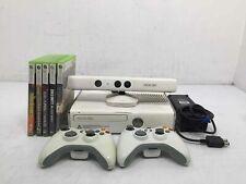 Microsoft Xbox 360 S 320Gb White Video Game Console w/ 5 Games