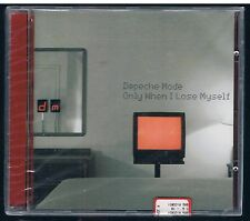 DEPECHE MODE ONLY WHEN I LOSE MYSELF CD SINGOLO SINGLE cds sigillato!!!