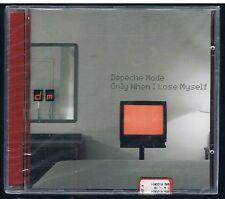 DEPECHE MODE ONLY WHEN I LOSE MYSELF CD SINGOLO SINGLE cds sigillato!!!