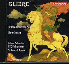 CD album: Rheinhold Gliere: bronze horseman suite. Edward Downes. chandos. A