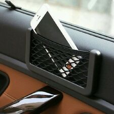 Universal Car Seat Side Back Net Storage Bag Phone Holder Pocket Organizer (Smal