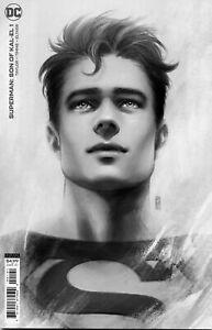 SUPERMAN: SON OF KAL-EL #1 SKETCH BARTEL VARIANT 1:25 DC COMICS TOM TAYLOR 01