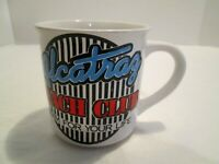 Vintage Alcatraz' Coffee Mug Glass Cup Drinking Prison Swim For Your Life