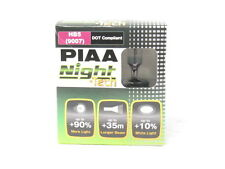 PIAA 9007/HB5 Night Tech White Halogen Headlight Light Bulbs Twin Pack 3600K