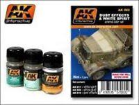 AK00060 AK Interactive - Dust Effects and White Spirit Set model making detail