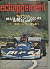 ECHAPPEMENT ; N°93 juillet 1976 :  FORD Escort 1300 et 2000 RS / Datsun 240 Z