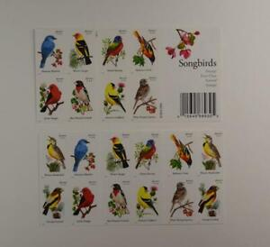 US SCOTT 4882 - 4891b BOOKLET OF 20 SONGBIRDS FOREVER STAMPS MNH